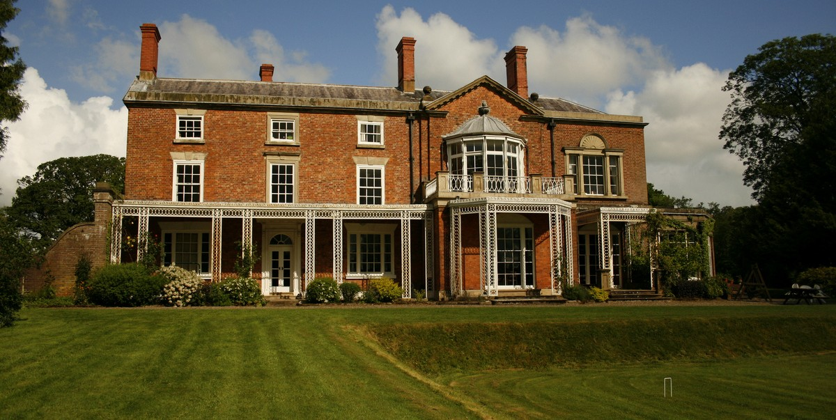 The Grange, our home for the weekend. Image © Zoe Weston.