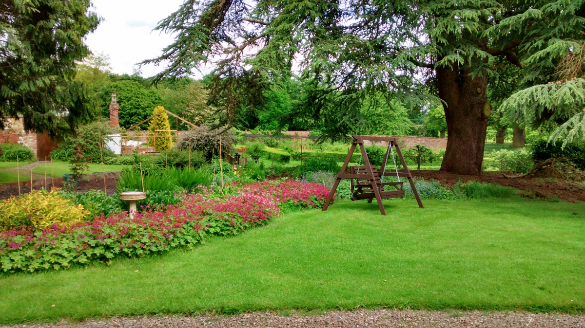 The garden at the Grange