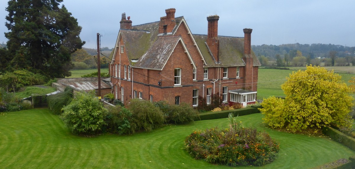 Poulstone Court, our home for the week
