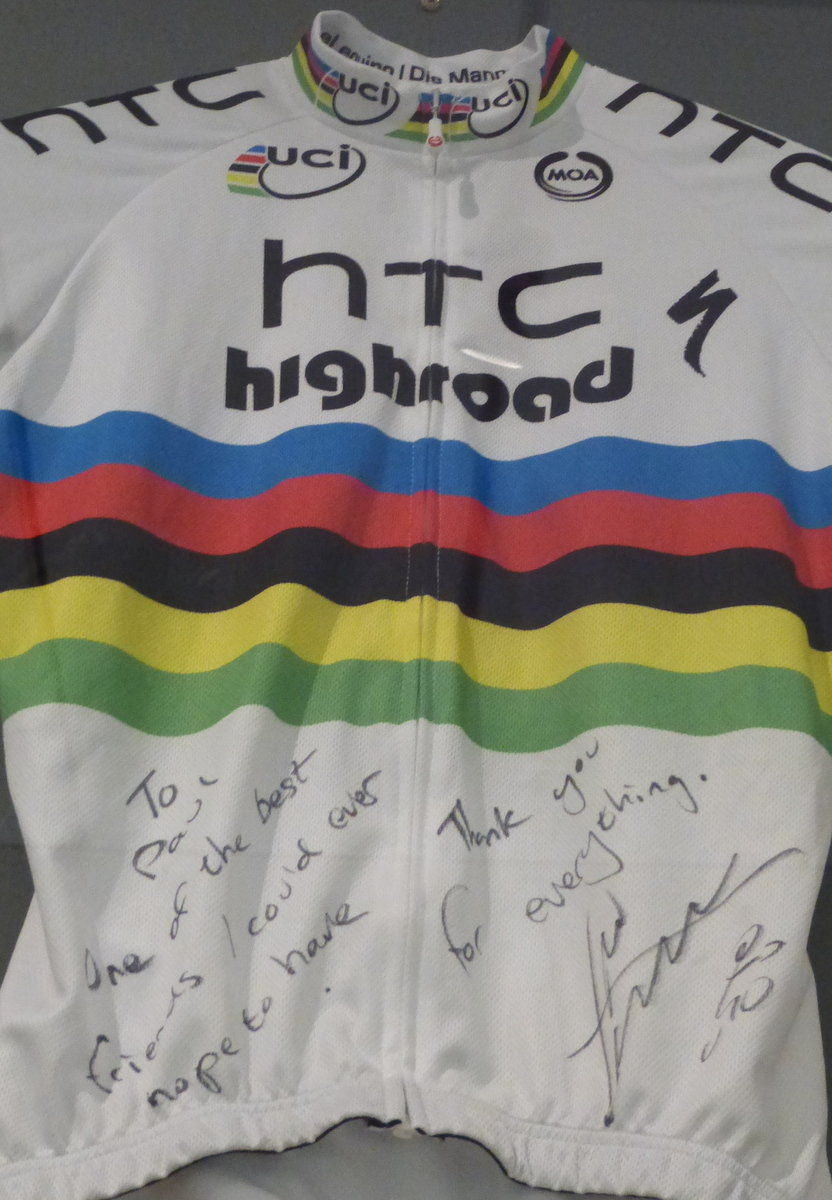 Mark Cavendish's jersey (used)