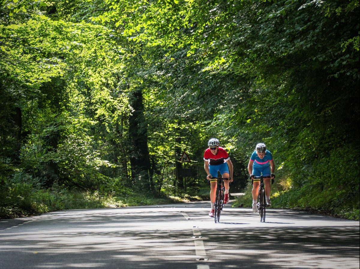 Riding on Stonor Hill. Image ©VisitBritain/Nadir Khan