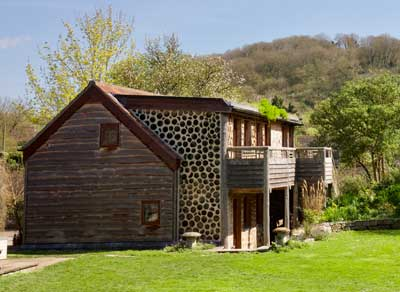 Earthspirit Cordwood building - Somerset