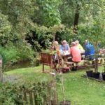 Plant nursery coffee stop, West Wales Beano