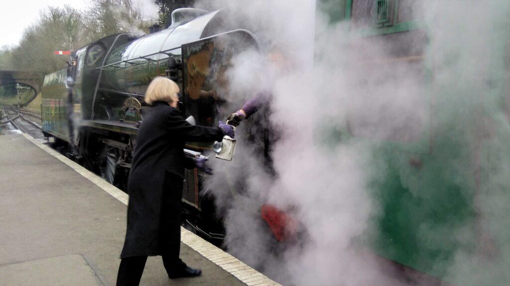 Watercress Line train