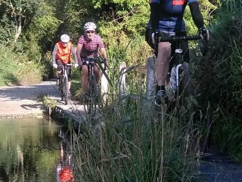 South Downs Beano - crossing the ford